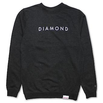 Diamond Supply Co Futura Sweatshirt Holzkohle