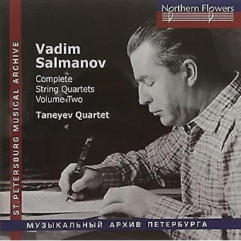 Taneyev String Quartet - Salmanov: Komplet strygekvartetter nr. 4-6 Vol. 2 [CD] USA import