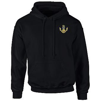 Die Treue Regiment gestickt Logo - offizielle britische Armee Hoodie