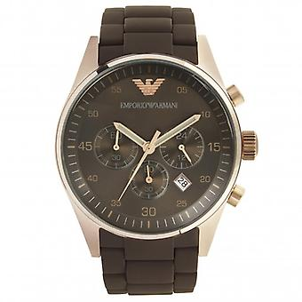 Armani Watches Mens Brown Chronograph Watch Ar5890
