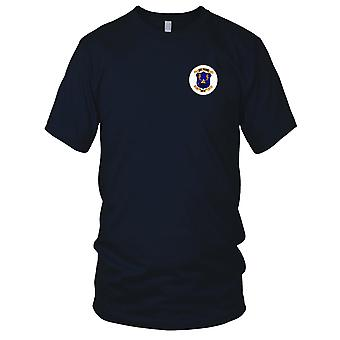 US Navy USS Prairie AD-15 Embroidered Patch - Ladies T Shirt