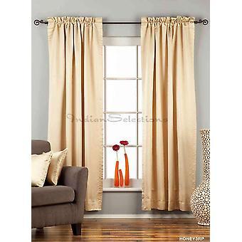 Apagón de 90% de oro bolsillo Barra cortina / cortina / Panel - pieza
