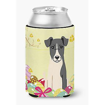 Easter Eggs Smooth Fox Terrier Can or Bottle Hugger