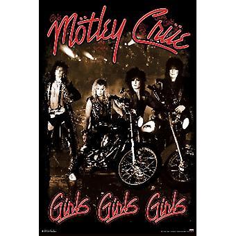 MOTLEY CRUE Girls Girls Girls Poster Poster Print