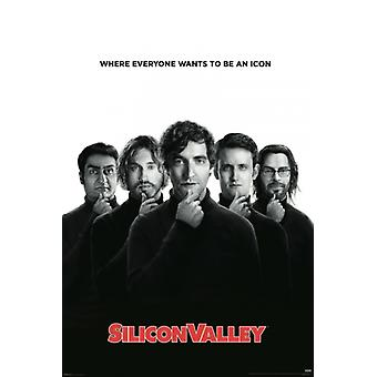 Silicon Valley Poster Poster Print