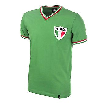 Mexico Pele 1980\'s Short Sleeve Retro Football Shirt