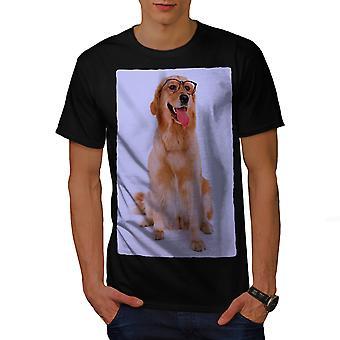 Labrador Photo Dog Animal Men BlackT-shirt | Wellcoda
