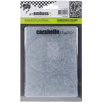 Carabelle Studio Embossing Folder-Horloges AE60018