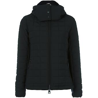 Rossignol women's RLFWJ70200 black polyester Quilted Jacket