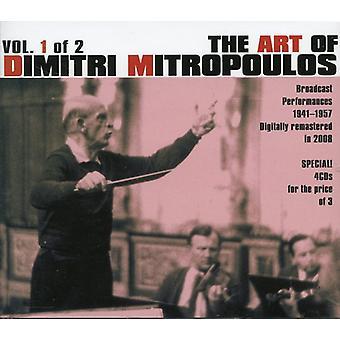 Berg/Beethoven/Schumann - kunst af Dimitri Mitropoulos, Vol. 1 2 [CD] USA import