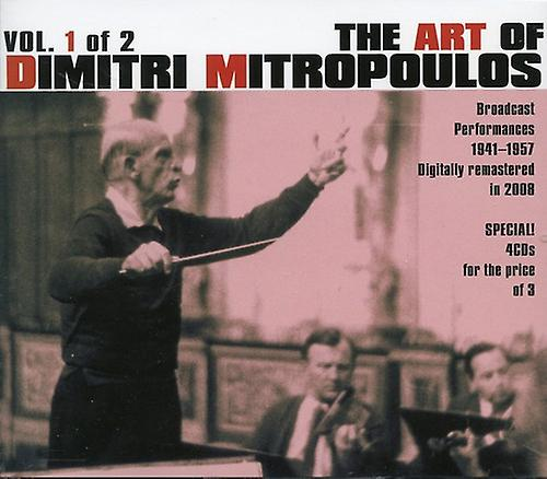Berg Beethoven SchuhomHommes - The Art of Dimitri Mitropoulos, Vol. 1 of 2 [CD] USA import