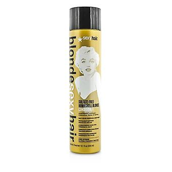 Sexy Hair begreber blond Sexy Hair sulfat-fri bombe Blonde Conditioner (daglig farve bevare) 300ml / 10.1 oz