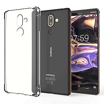 Nokia 7 Plus Alpha TPU Gel - Clear