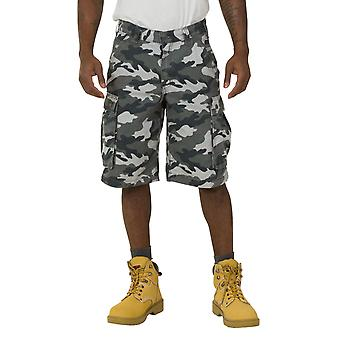 Carhartt Rugged Cargo Camo Shorts - Grey Work Shorts 100279 071 mens workwear