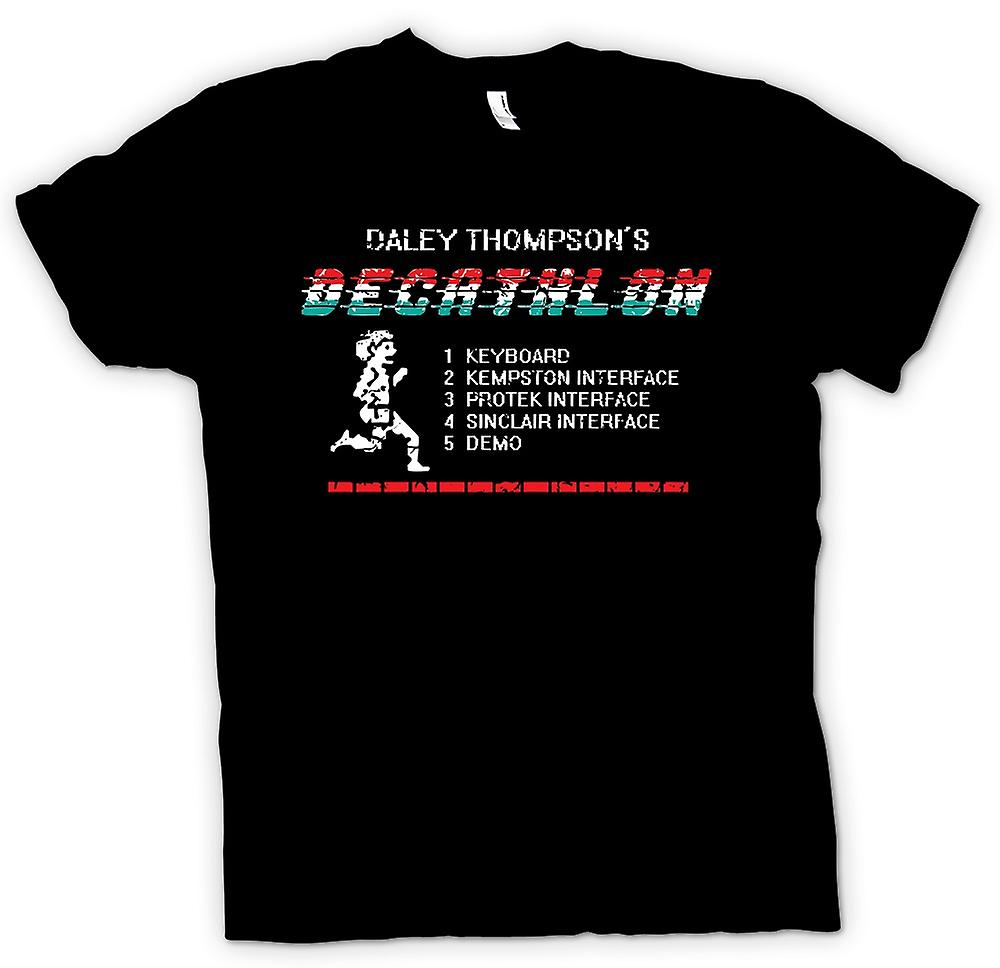 Herr T-shirt-Daley Thomspons - Decathlon - Arcade - C64 - 48K spel