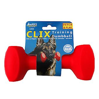 Clix Floating Training Dumbbell For Dog, Play Retrieval Dog Training L