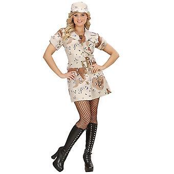 Desert Storm Soldier Girl (Dress Belt Hat)