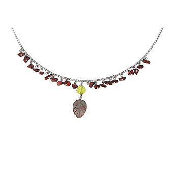 Orphelia Silber 925 Halskette 43Cm mit Colered Steinen ZK-2587