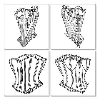 Misses' Stays and Corsets-6-8-10 -*SEWING PATTERN*