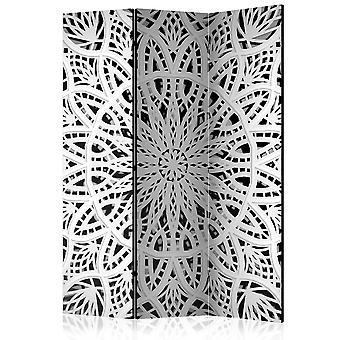 Rumdeler - hvid Mandala [værelse delelinjer]