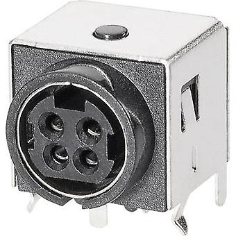 BKL Electronic 0212004 Mains connector Socket, horizontal mount 1 pc(s)