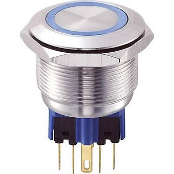 TRU COMPONENTS GQ25-11E/B/12V Tamper-proof pushbutton 250 V AC 5 A 1 x On/(On) IP65 momentary 1 pc(s)