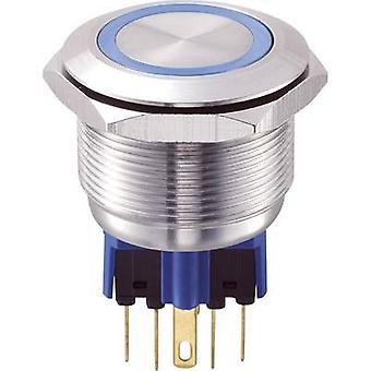 COMPONENTES de TRU GQ25-11E/B/12V inviolável botão 250 V AC 1 5 x On/(On) IP65 momentânea 1 computador (es)