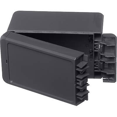 Bopla Bocube B 140809 ABS-7024 Wall-mount enclosure, Build-in casing 80 x 151 x 90 Acrylonitrile butadiene styrene Graphite grey (RAL 7024) 1 pc(s)