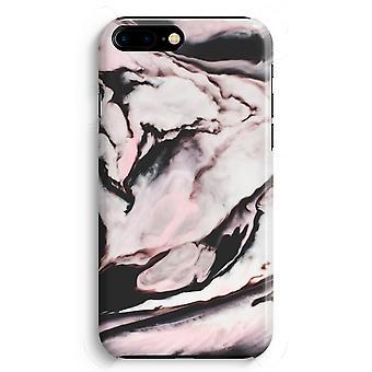 iPhone 8 に加えて、フル印刷ケース (光沢のある) - ピンク ストリーム