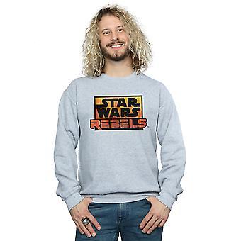 Star Wars mænds oprørerne Logo Sweatshirt