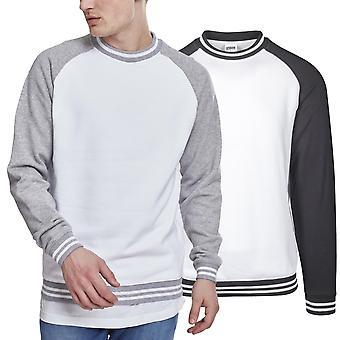 Urban klassikere - kontrast College Herre sweater