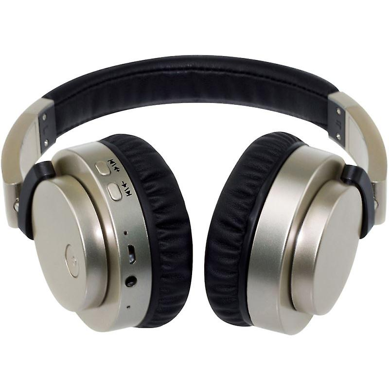Groov-e GVBT400GD Fusion Wireless Bluetooth or Wired Stereo Headphone - Gold