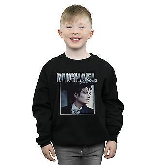 Michael Jackson Boys Homage Portrait Sweatshirt