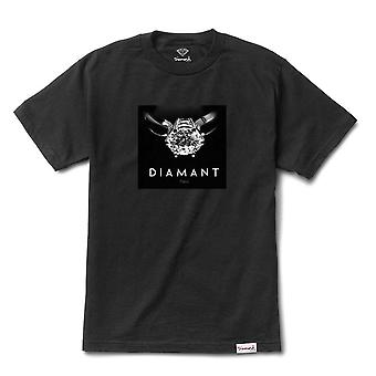 Camiseta de Diamant París diamante fuente Co negro
