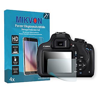Canon EOS 1200D Screen Protector - Mikvon Armor Screen Protector (Retail Package with accessories)