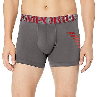 Emporio Armani Big Eagle Trunk, Anthracite Grey, Large