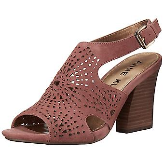 Anne Klein Women's Briella Suede Heeled Sandal