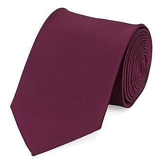 Tie tie tie tie 8cm of red cherry red uni Fabio Farini