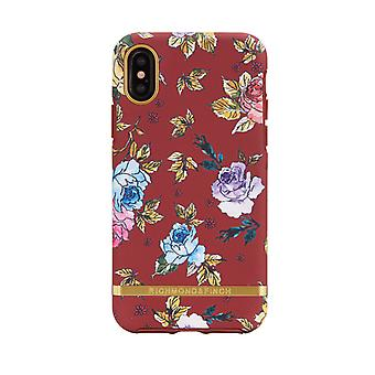 Richmond & Finch covers for IPhone X/XS-Red Floral