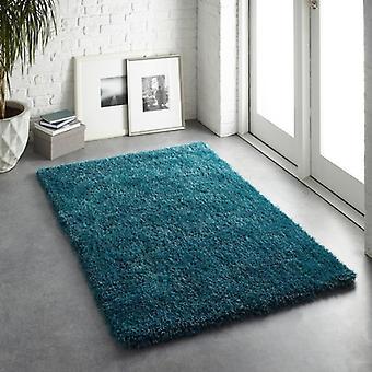 Chicago ciemny turkusowy prostokąt dywany zwykły/prawie zwykły dywany