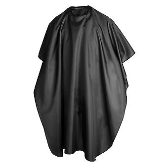 TRIXES Adult Black Salon Hairdressing Cutting Colour Hair Highlight Cape Body Gown