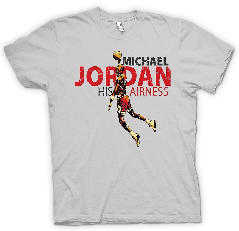 Mens t-shirt - Michael Jordon - sua Airness