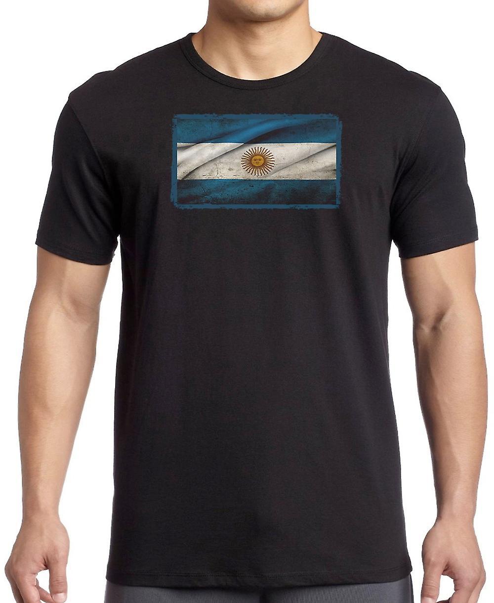 Argentinske Argentina Grunge flagg Kids T skjorte
