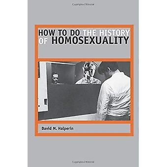 Hvordan man gør historien om homoseksualitet