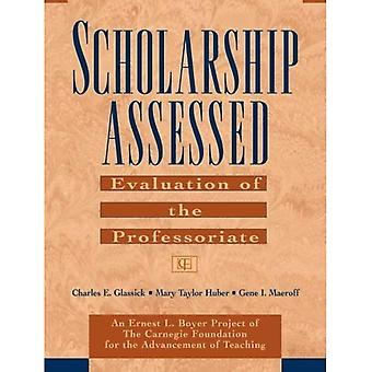 Scholarship Assessed: Evaluation of the Professori Professoriate (Paper Only): Evaluation of the Professoriate (Special Report)