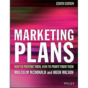 Markedsføring planer 8E - hvordan å forberede dem, hvordan å tjene fra dem.