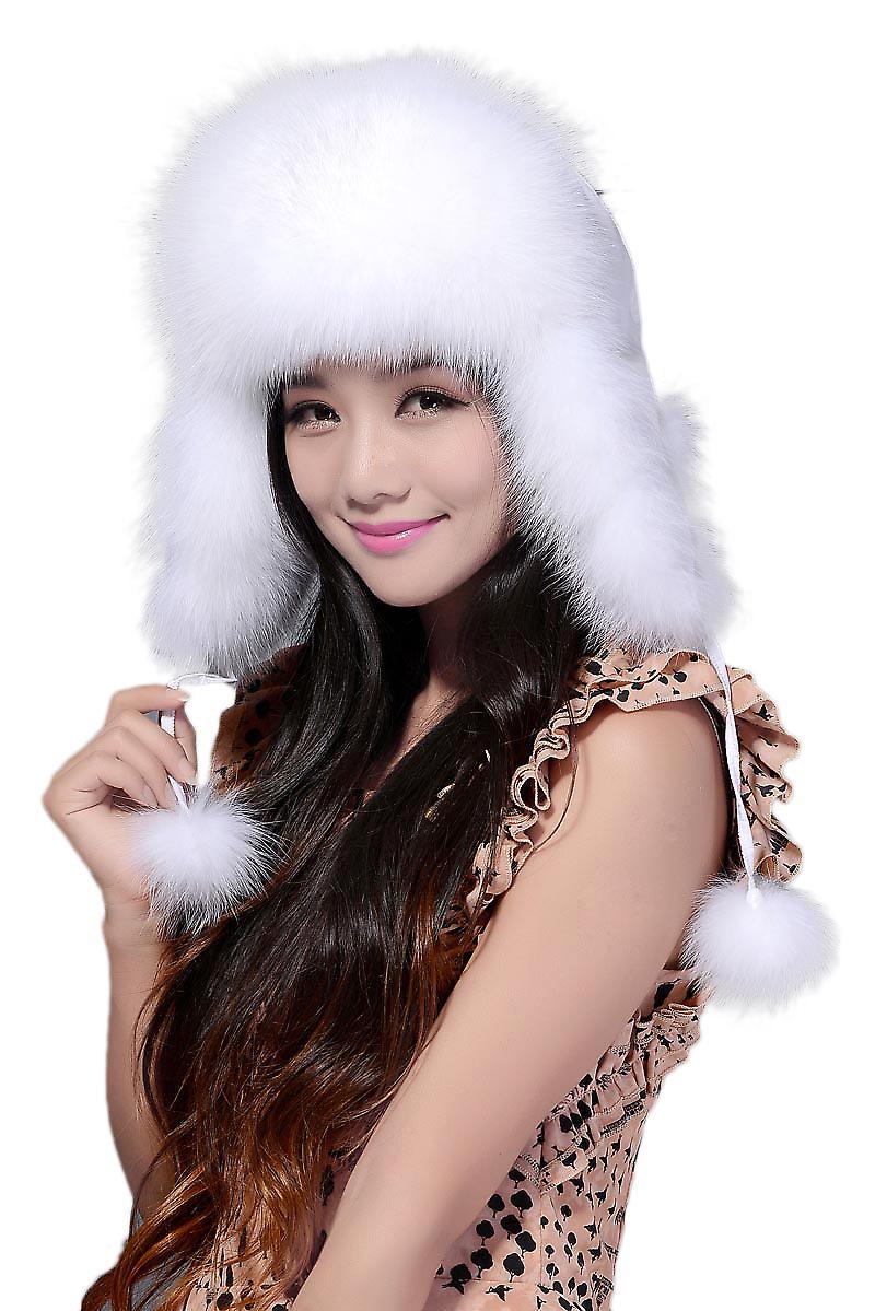 Waooh - fox fur hat Utili