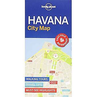 Lonely Planet Havana City kaart (kaart)