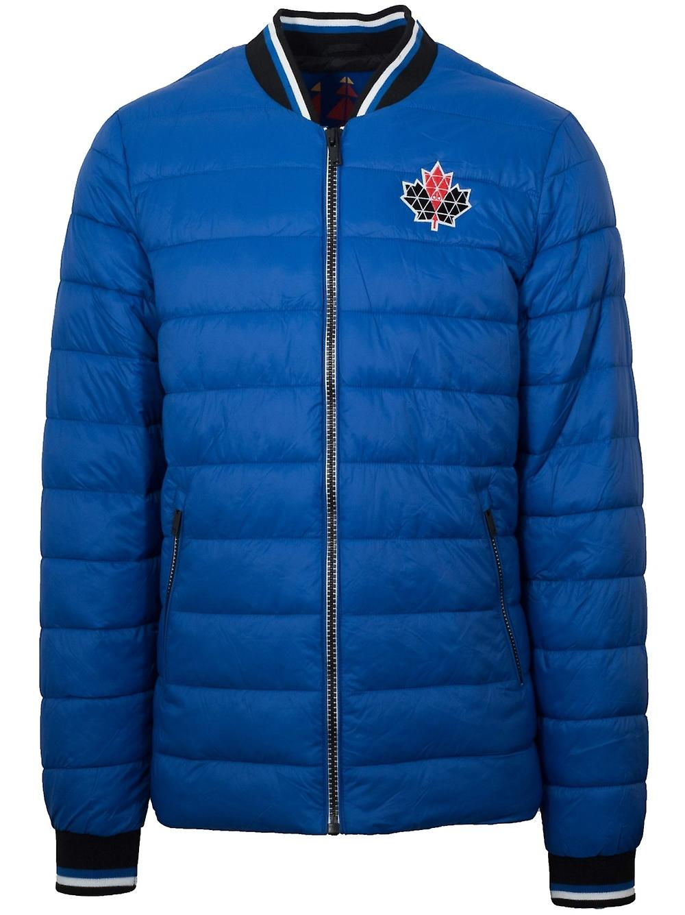 Moose Knuckles Moose Knuckles Team bleu Beaugrand Bomber Jacket