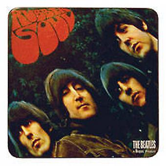 Beatles Rubber Soul drinks mat / coaster    (ro)